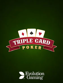 Live Triple Card Poker