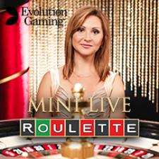 Evolution Live Casino - Mini Roulette