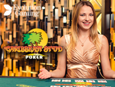 Live Carribean Stud Poker