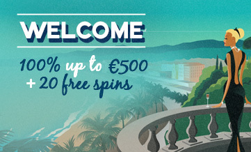 Welcome offer: 100% up to €500