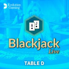 Blackjack table D