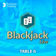 Blackjack table G