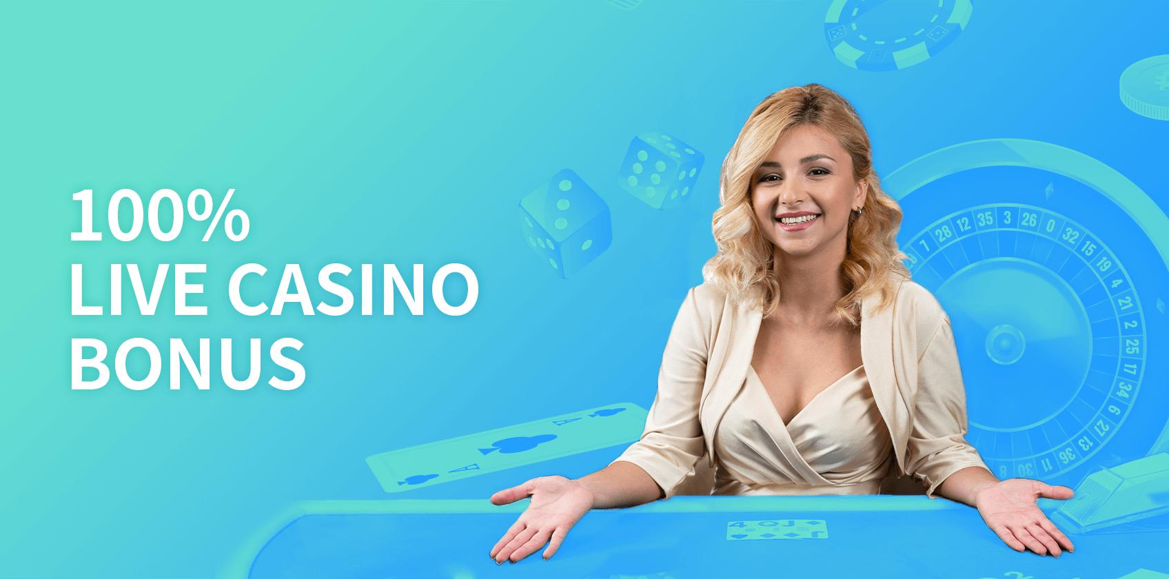 Exclusive Live Casino Bonus Up To 1btc