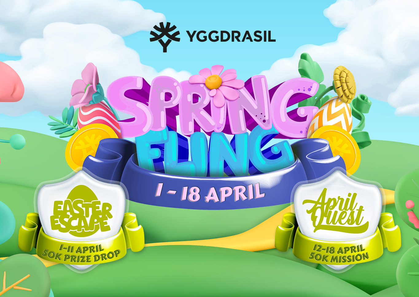 EASTER with YGGDRASIL AND 100K