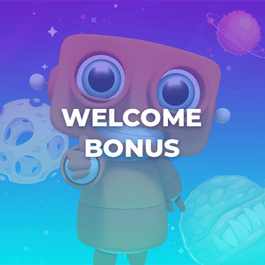 Intergalactic Welcome Bonus of 1000€ + 150 Cash spins!