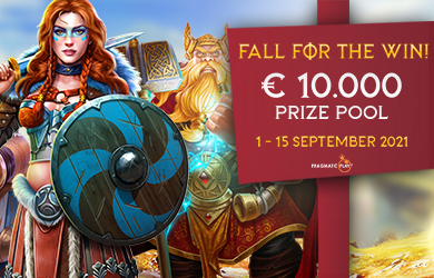 Fall For The Win € 10,000 Prize Pool