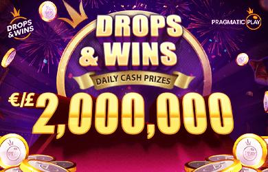 Drops and Wins € 2,000,000 CASH