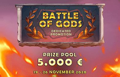 BATTLE OF THE GODS 19-26 NOV 2020