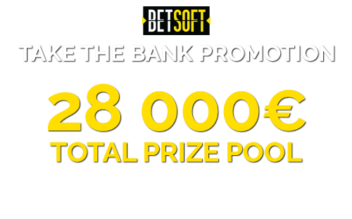 Betsoft's Take the Bank Promotion