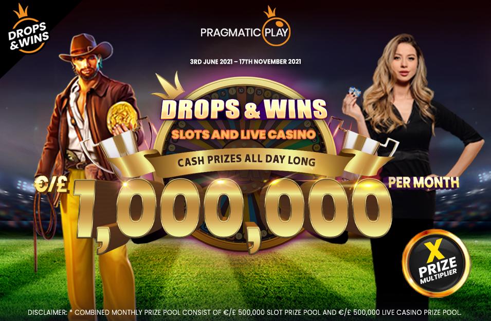 Drops & Wins - Cash-Preise den ganzen Tag lang
