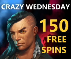 The Wednesday's 150 Free Spins