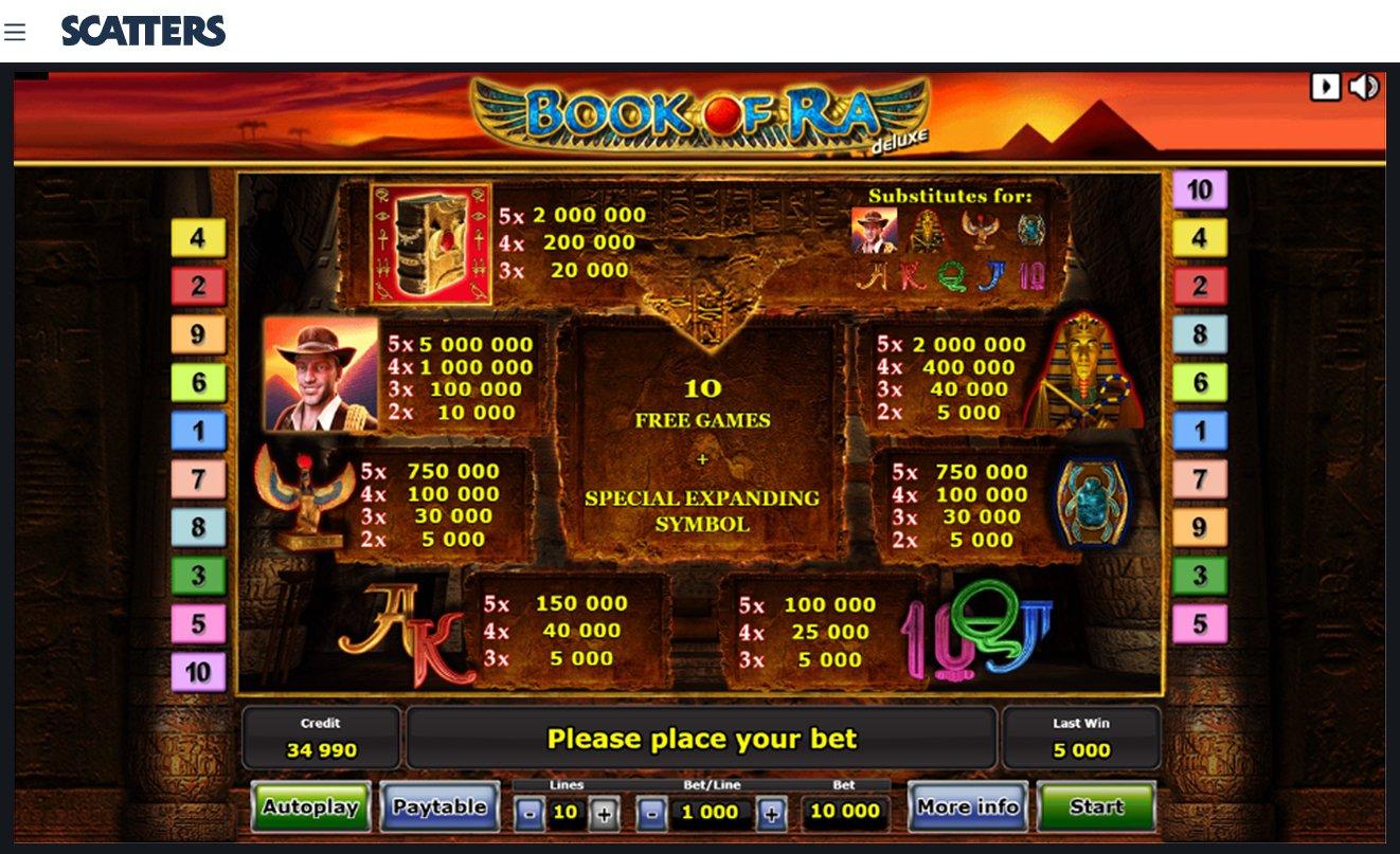 Book Of Ra Slot - Novomatic Casino Slots and Games