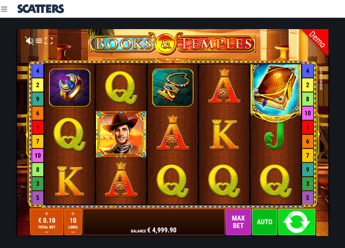 Books And Temples Online Slot - Slots Casino