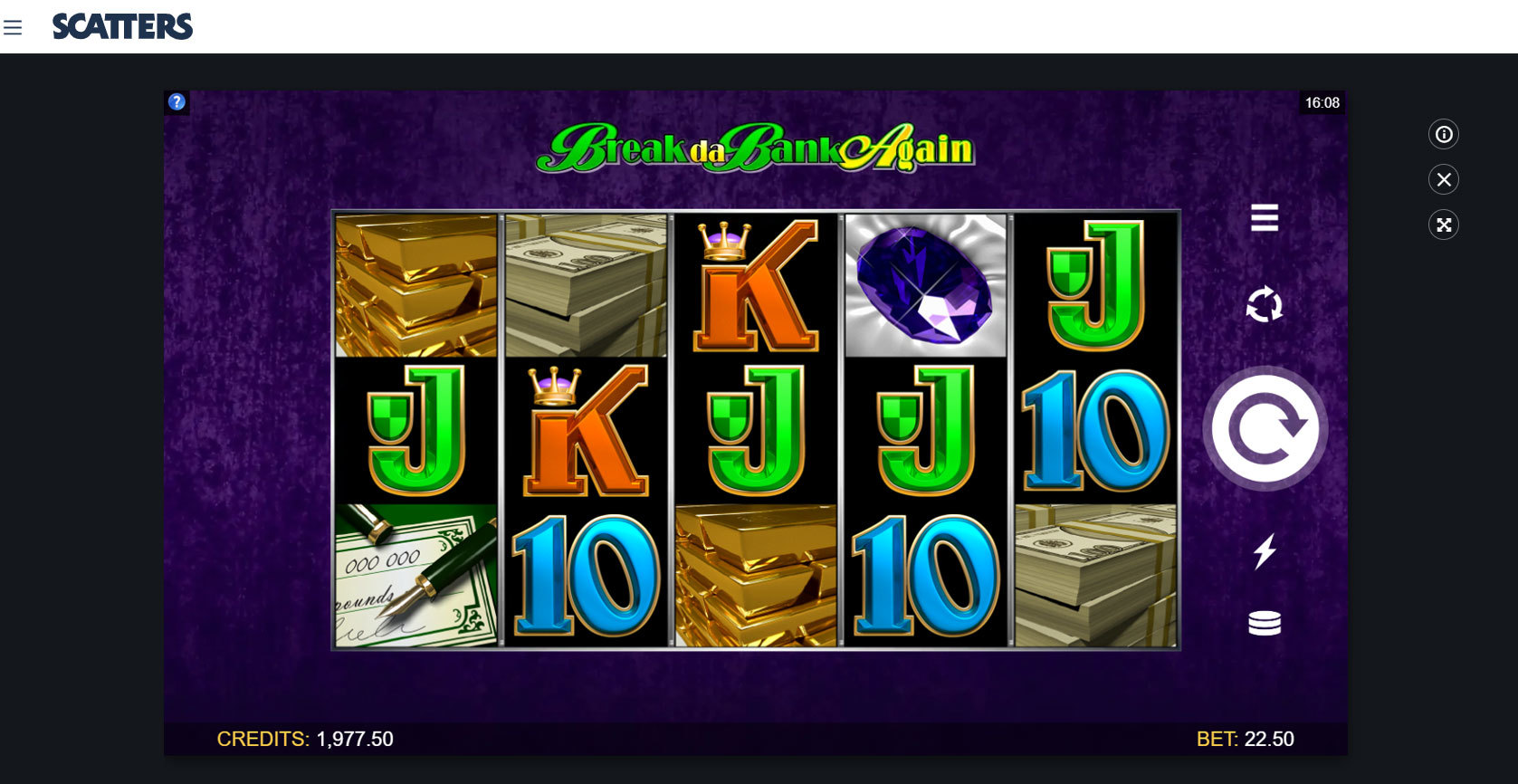 Break da Bank Again Online Slot - Scatters Slots Casino