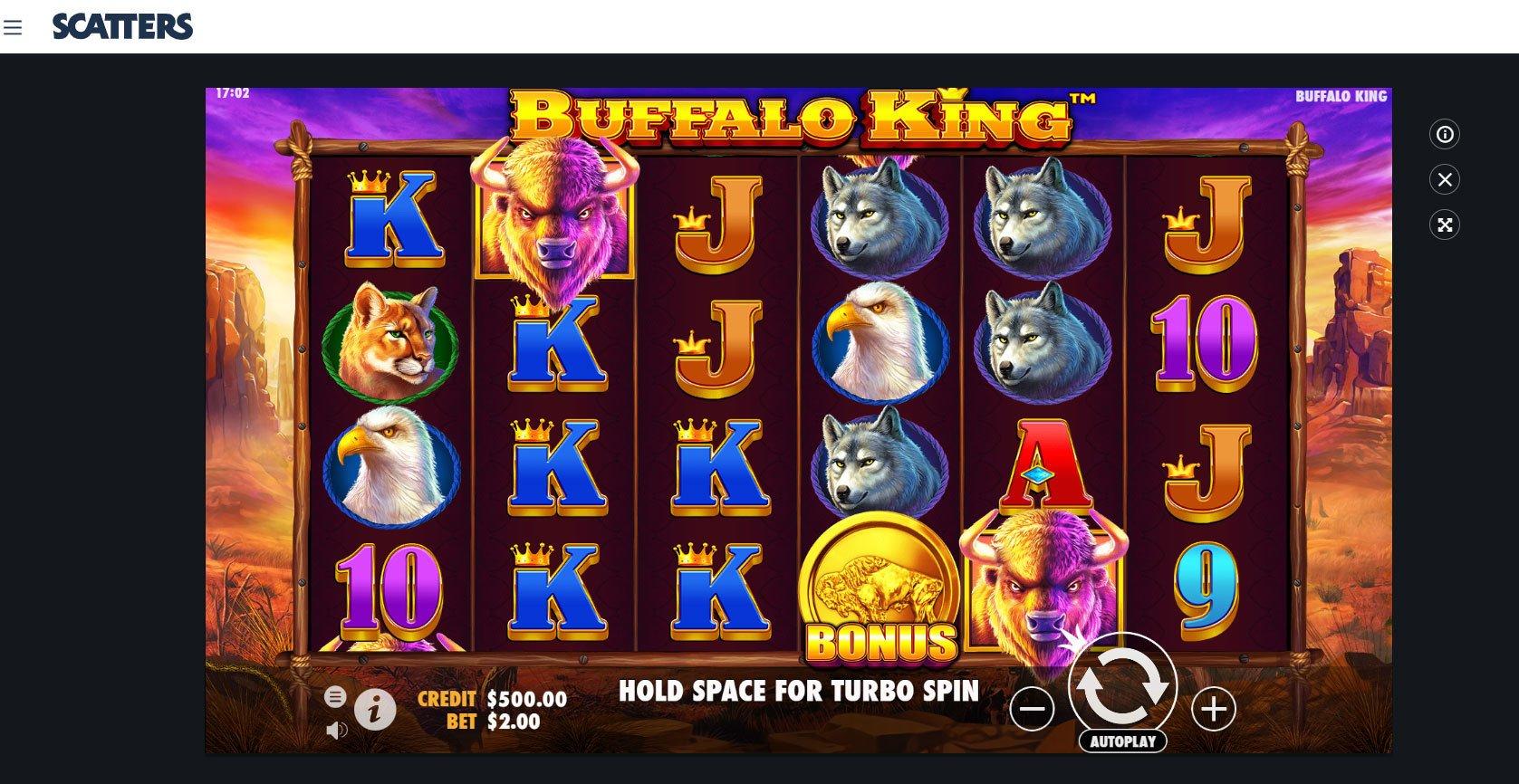 Buffalo King Online Slot by Pragmatic Play