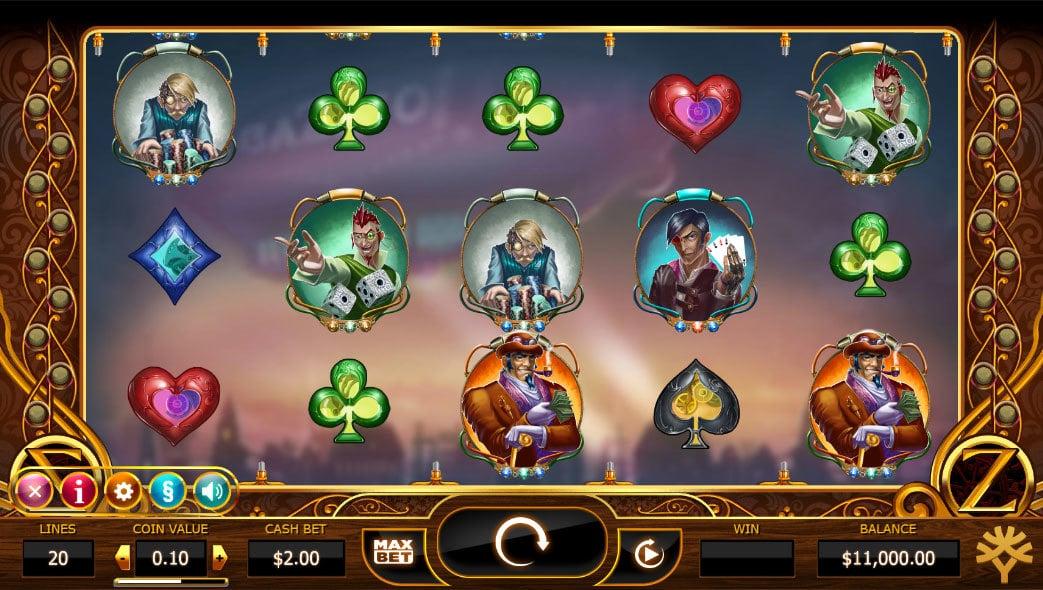 Cazino Zeppelin Online Slot - Scatters Casino