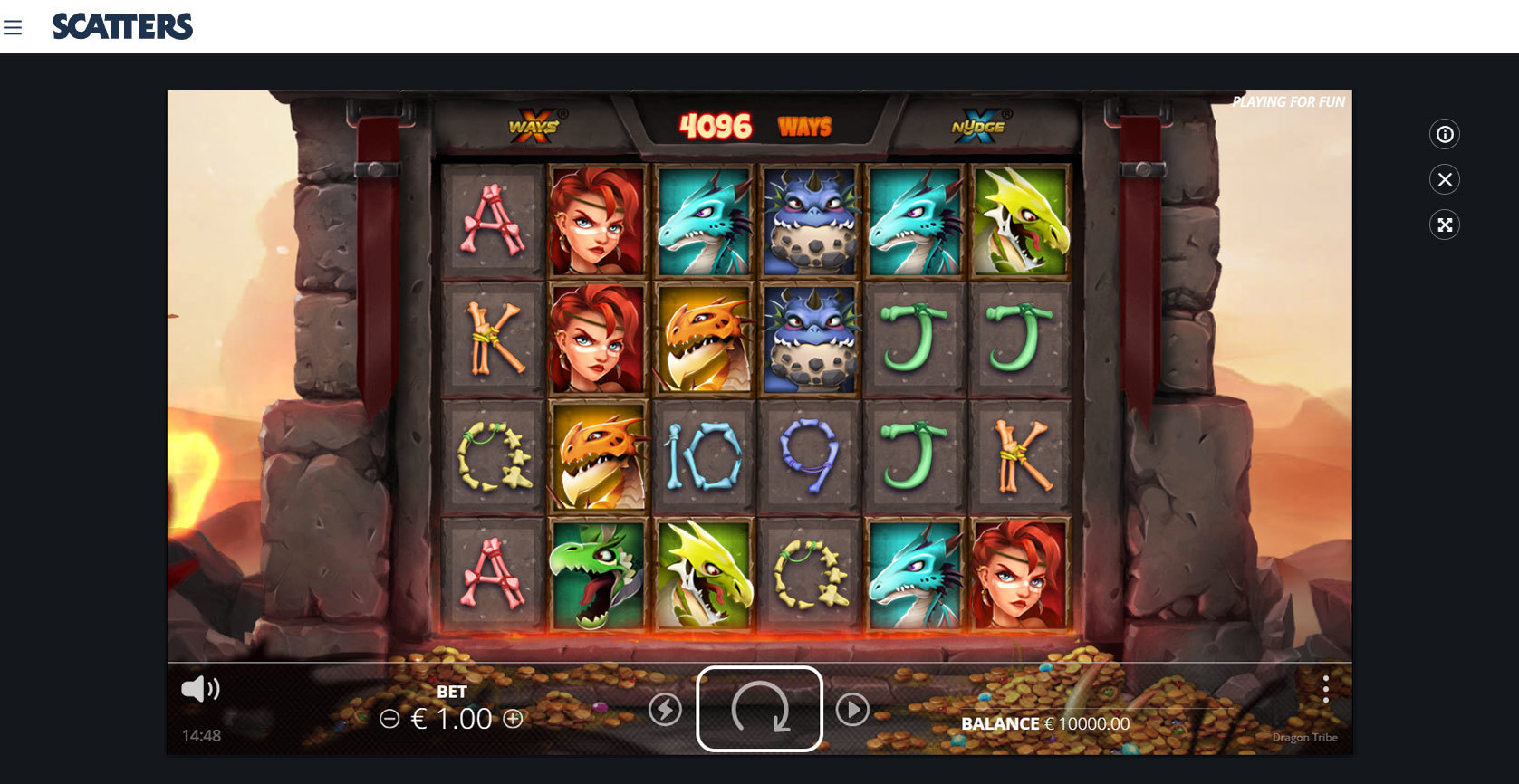 Dragon Tribe Online Slot - Scatters Slots Casino