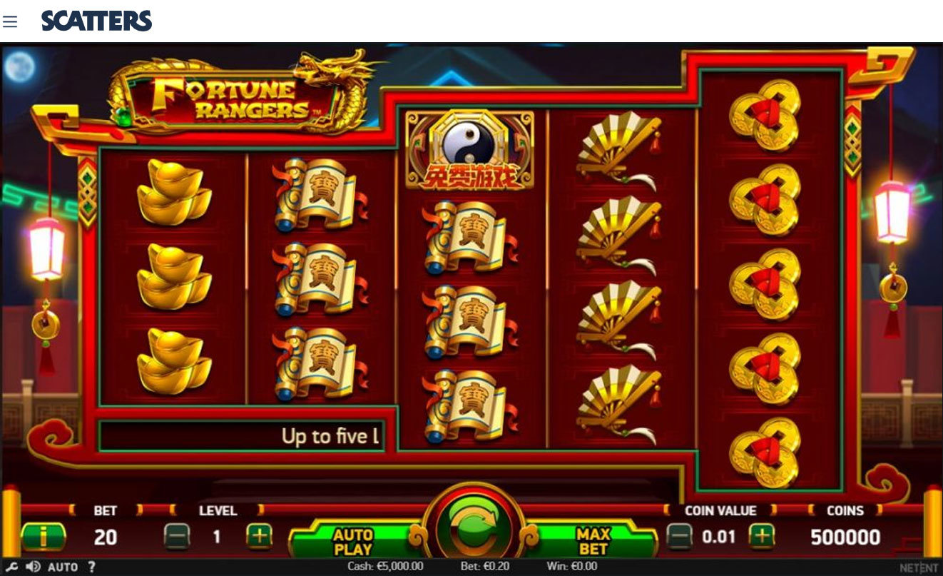Fortune Rangers Slot by Netent - Casino Scatters