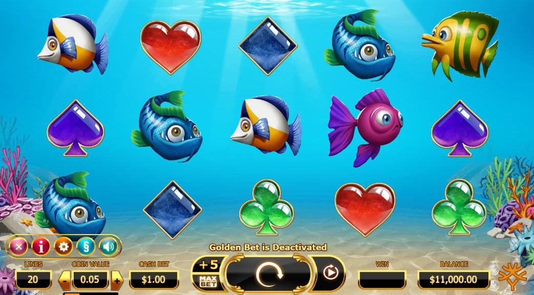 Golden Fishtank Online Slot by Yggdrasil - Scatters Casino