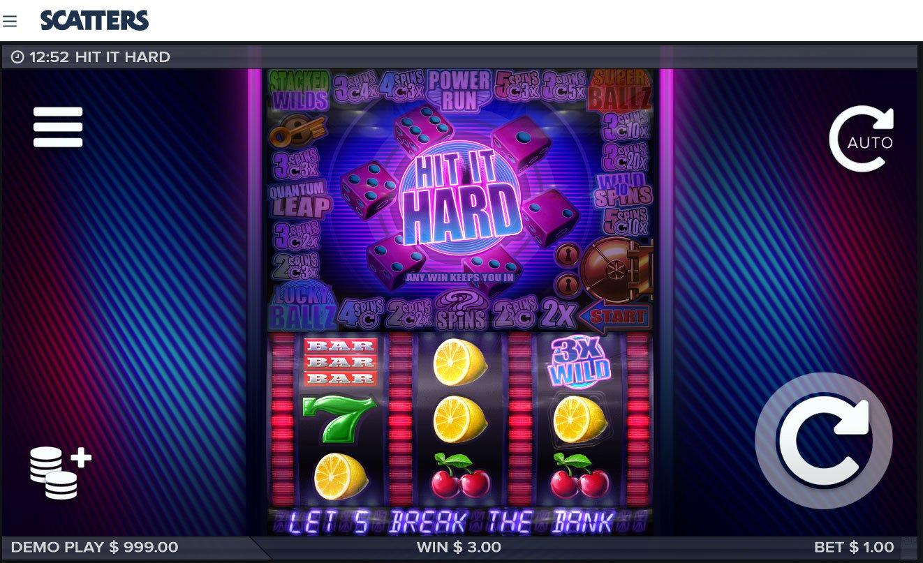 Hit it Hard Slot by Elk Studios - Scatters Online Casino