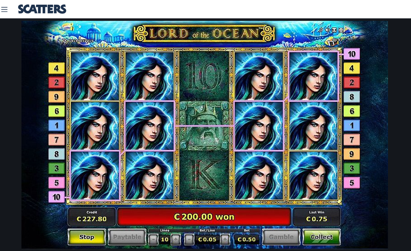 Lord of the Ocean Slot - Novomatic Casino Slots and Games