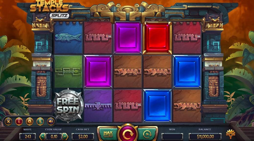 Temple Stacks Splitz Online Slot - Scatters Casino