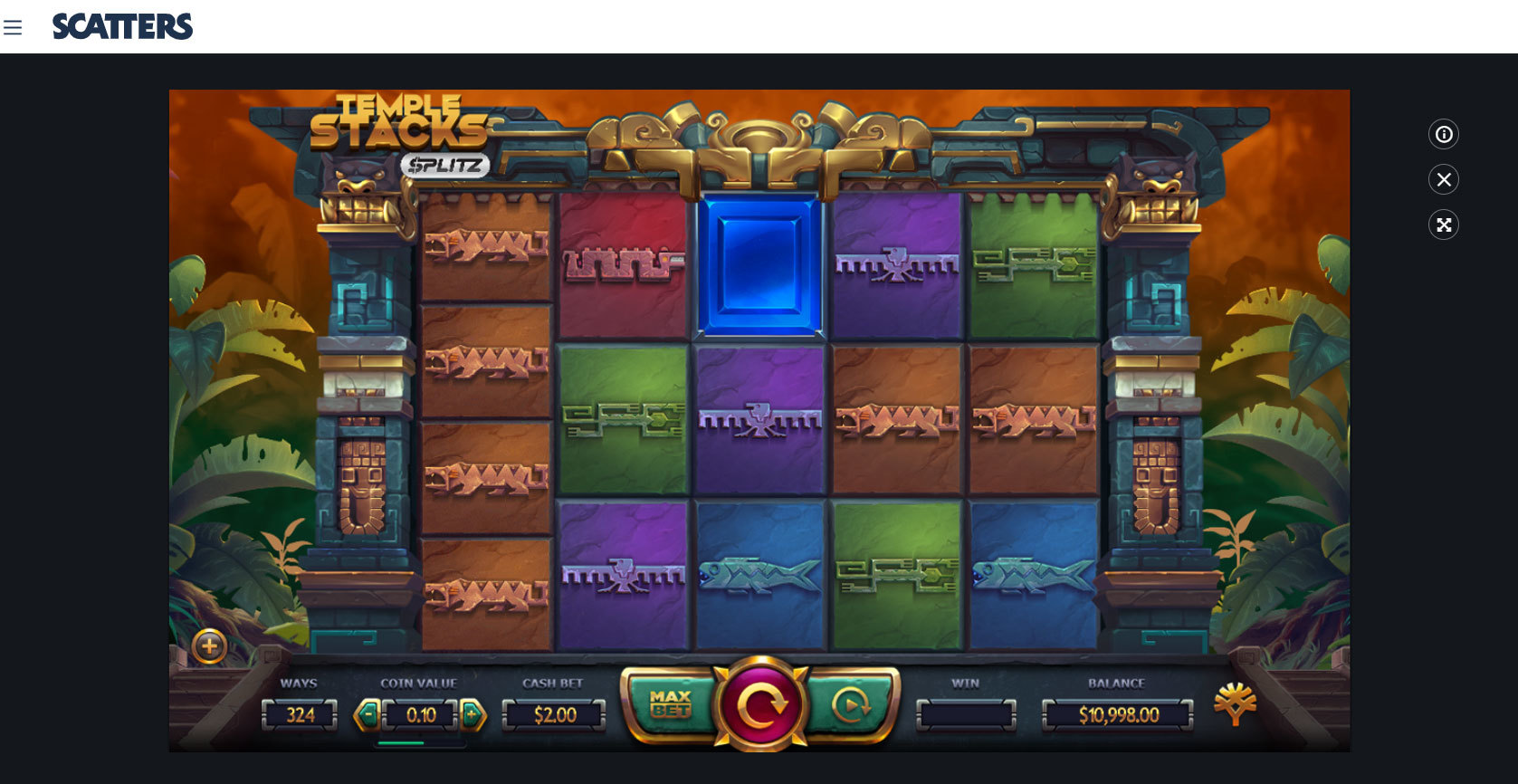 Play Temple Stacks - $PLITZ Slot by Yggdrasilfor Free or Real Money at Scatters