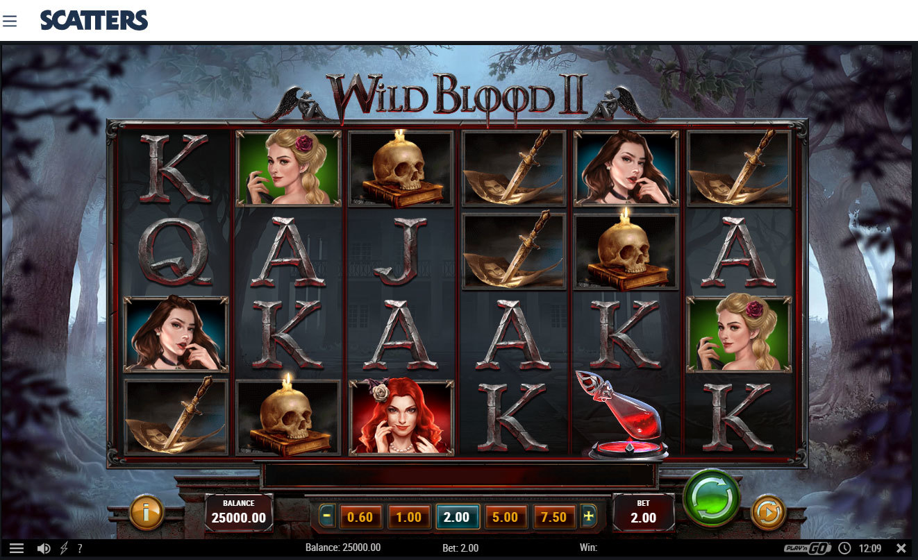 Wild blood 2 online slot by Play'n Go - Casino Scatters