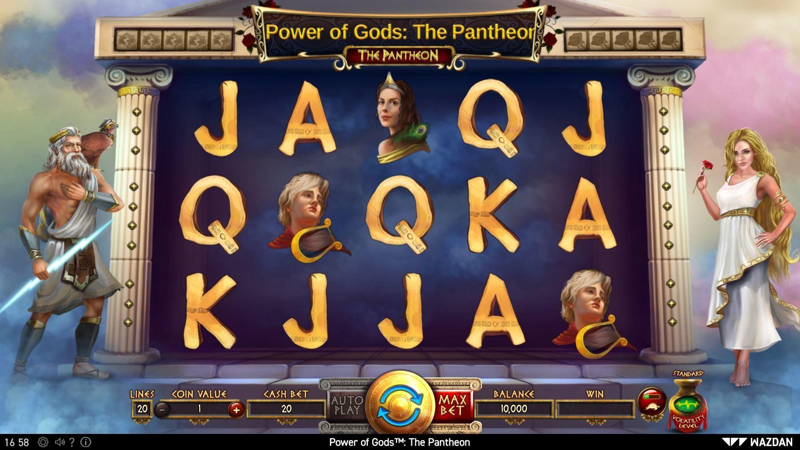 Power of Gods The Pantheon Online Sot by Wazdan - Scatters Online Casino